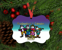 Mummers Christmas Ornament Version 2