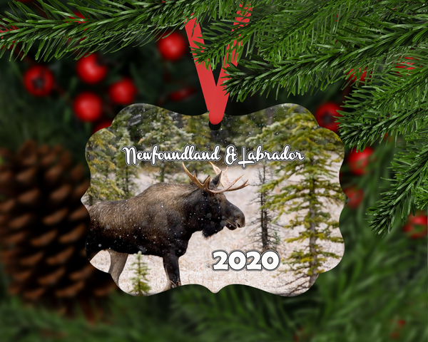 Christmas Ornament - NL Moose