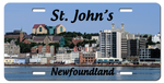 St. John's Photo License Plate