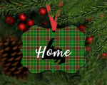 Christmas Ornament - NL Tartan - Home