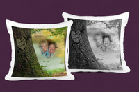 Names in Tree Pillow Cover