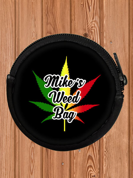 Weed Coin Bag