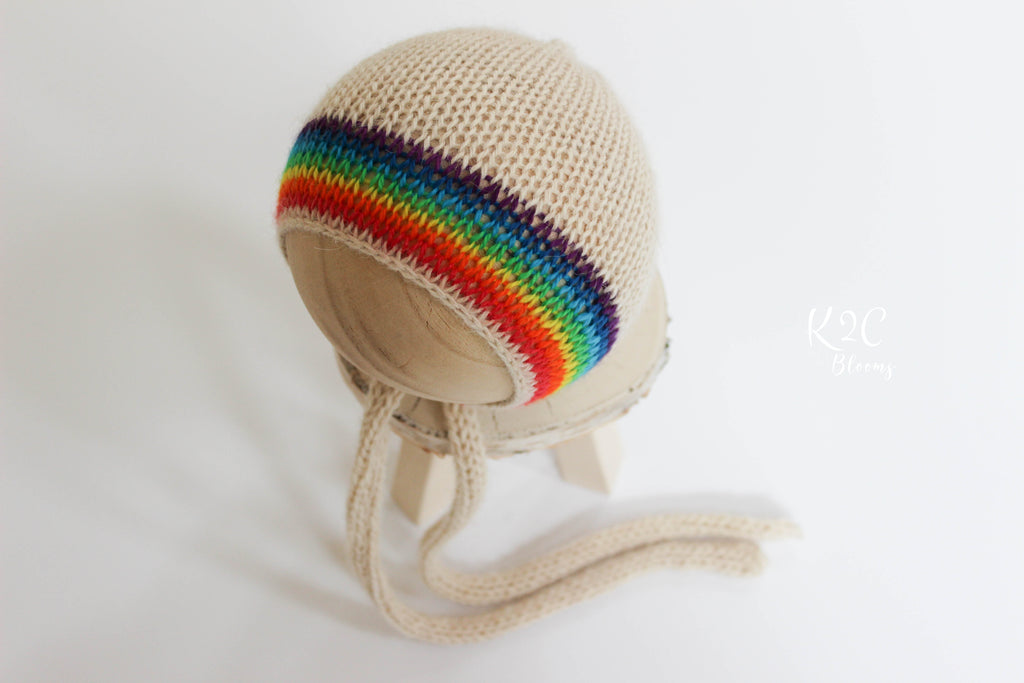 Rainbow Bonnet