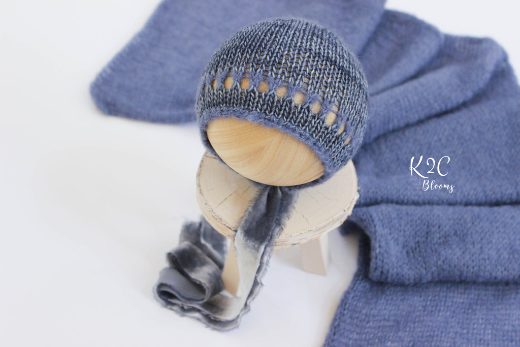 Chambray blue set