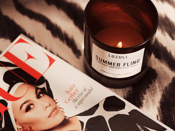 Summer Fling Luxury Coconut Candle