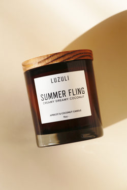Summer Fling Candle - Creamy Coconut & Lost Loves