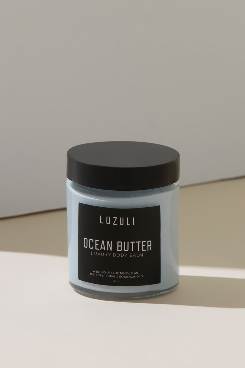 Ocean Butter | Blue Tansy & Cocoa Butter Whipped Vegan Body Balm