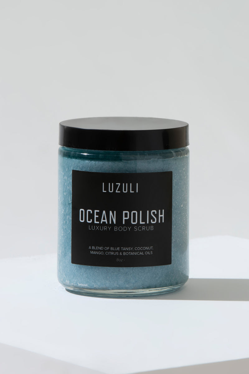 Ocean Polish | Luxury Sea Salt Body Scrub