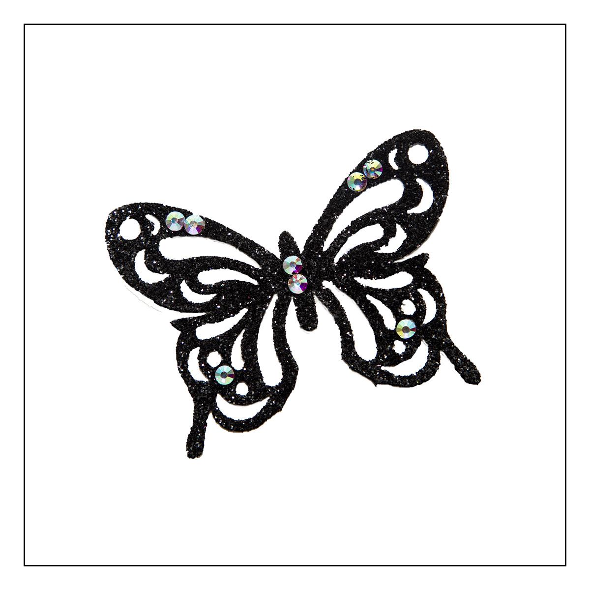Skin Jewerly Butterfly Black 1 - 1 piece