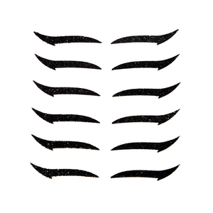 Adhesive Eyeliner by Agustin Fernandez CLASSIC BLACK - 6 pairs