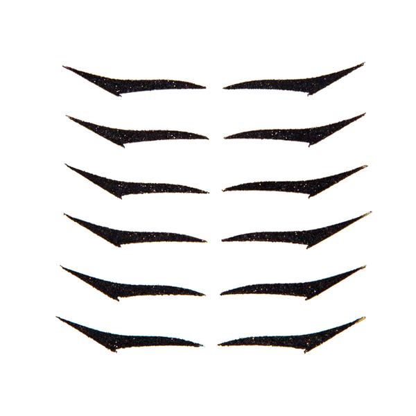 Eyeliner Sticker KITTEN BLACK - 6 pairs