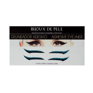 Eyeliner Sticker Black and Blue CLASSIC - 2 pairs