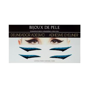 Eyeliner Sticker Black and Blue WINEHOUSE - 2 pairs