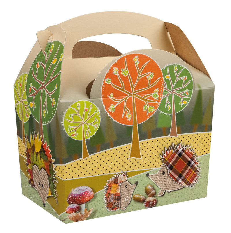 Children's Adult's Meal/Party Box - Compostible Woodland Design