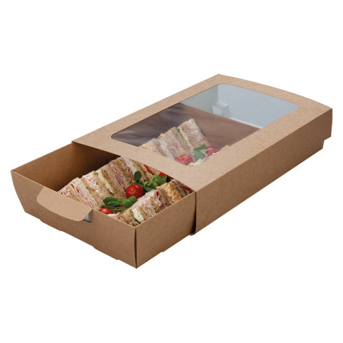 Medium Cardboard Platter Box Base & Sleeve's (Sold Separately)