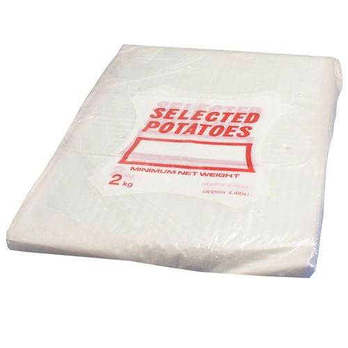 Clear Polythene Potato Bags