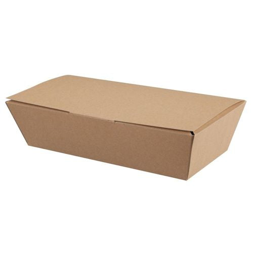 Medium Kraft Paperboard Multi-Food Box