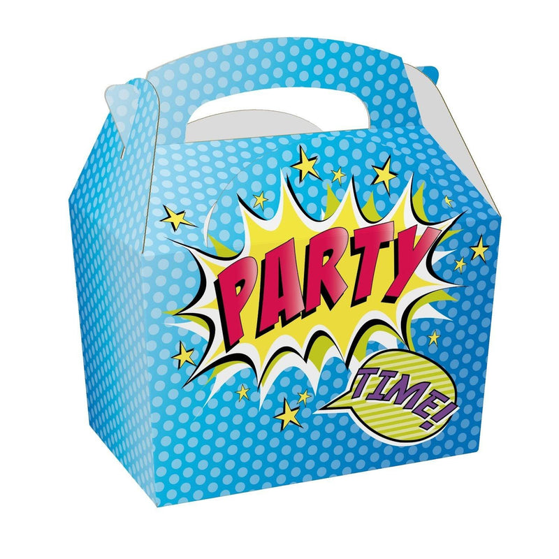 Children's Adult's Meal/Party Box - Party Time Design