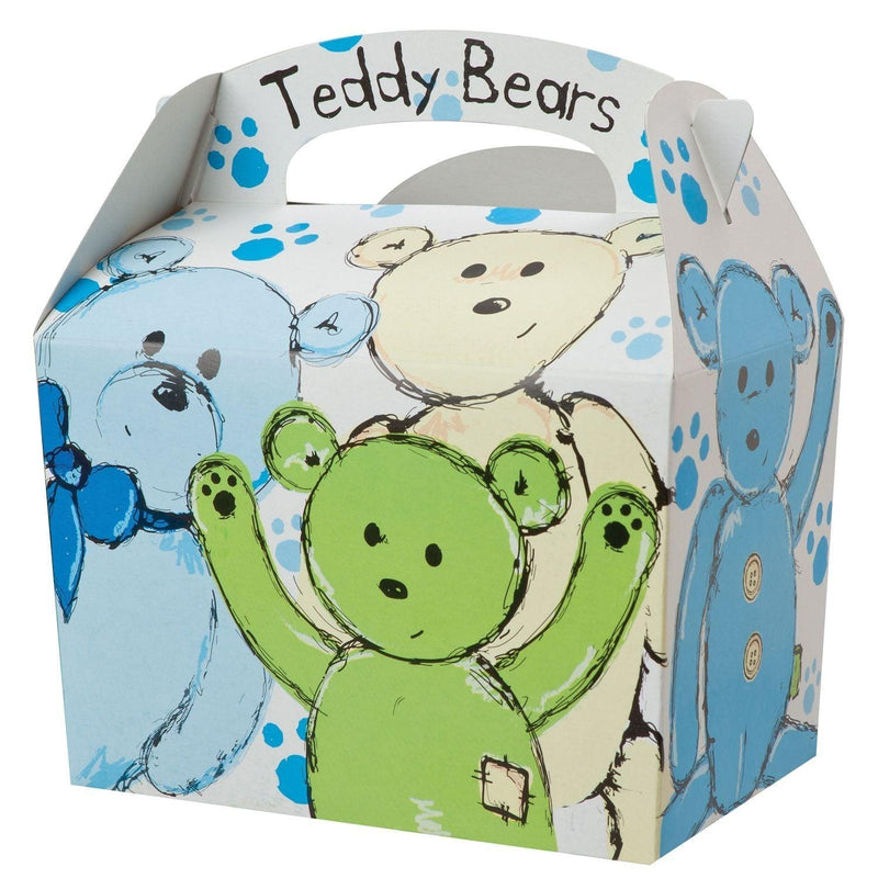 Children's Meal/Party Box - Teddy Bear Design