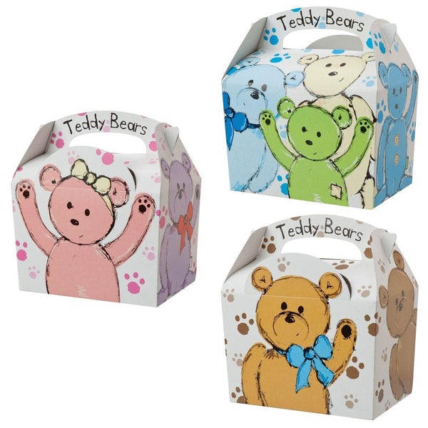Children's Meal Box - Teddy Bear Design