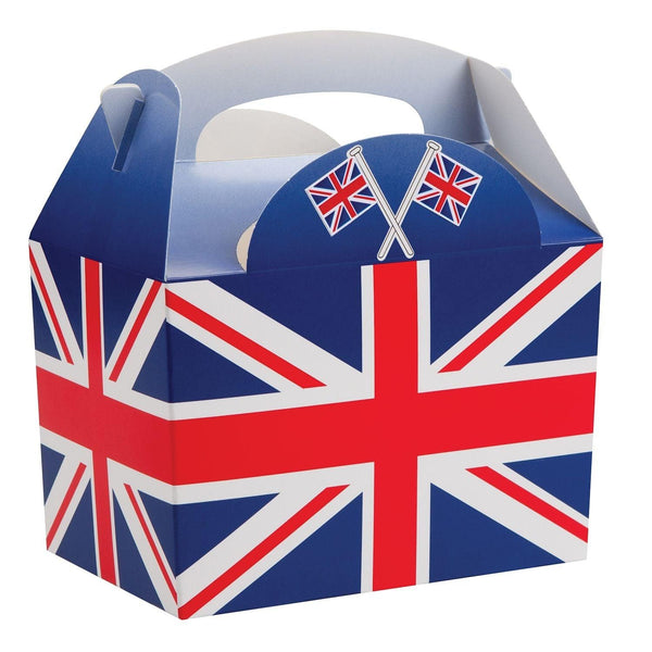Children's Adult's Meal/Party Box - Union Jack Flag Design