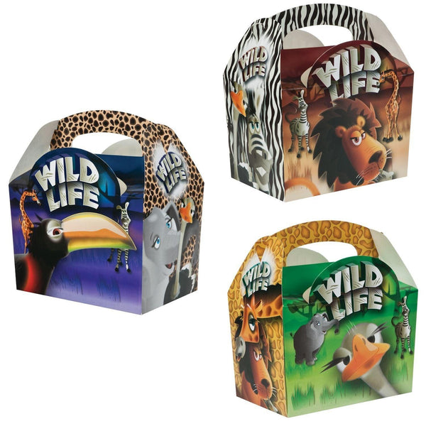 Children's Meal/Party Box - Wildlife Design