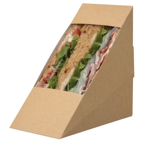 Deep Fill Sandwich Wedges Kraft