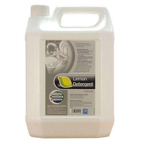 Concentrated Detergent Washing Up Liquid Green or Lemon