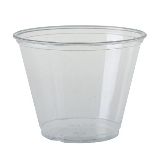 9oz Solo Ultra Clear PET Cold Tubs