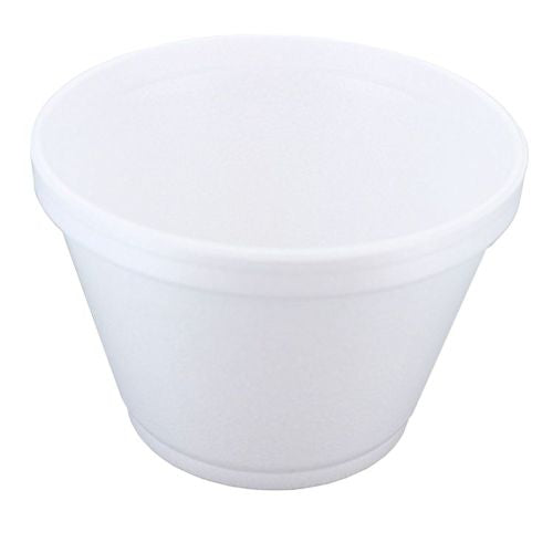 6oz Dart Polystyrene Food Tub/Container