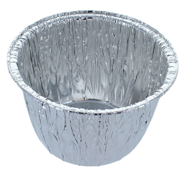 Foil Container - Small Deep Foil Pudding Basin Rolled Edge - CH-46E-500
