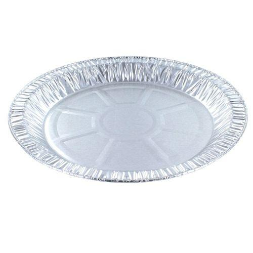Foil Container - Round, Rolled Edge, Cartwheel Base - CH-49H-500