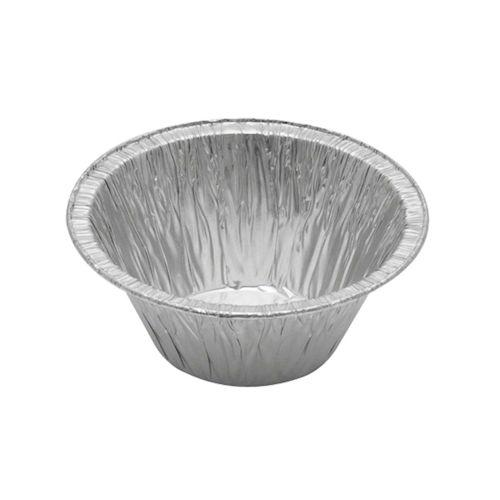 Foil Container - Round, Rolled Edge, Plain Base - CH-NC-143-501