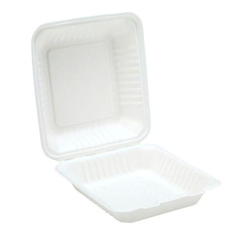 Biodegradable Sugar Cane Fibre Burger Meal/Food Box