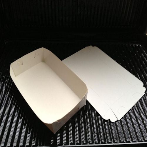 White Multi Food Tray