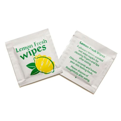 Lemon Scented Hand Wipes