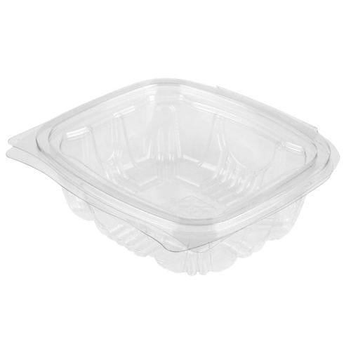 Hinged Clear Salad Containers - Various Sizes