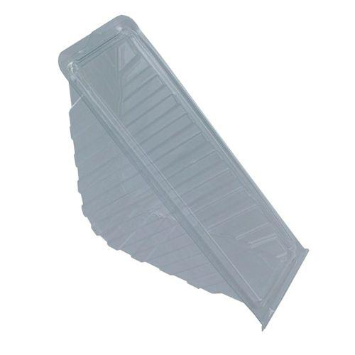 Clear Hinged Sandwich Wedges - Various Types & Sizes