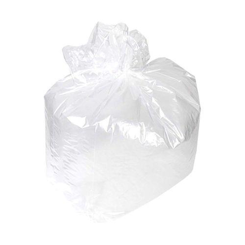 "White Square Bin Liners - 15x24x24"" (375x600x600mm) - (Qty: 1000)"