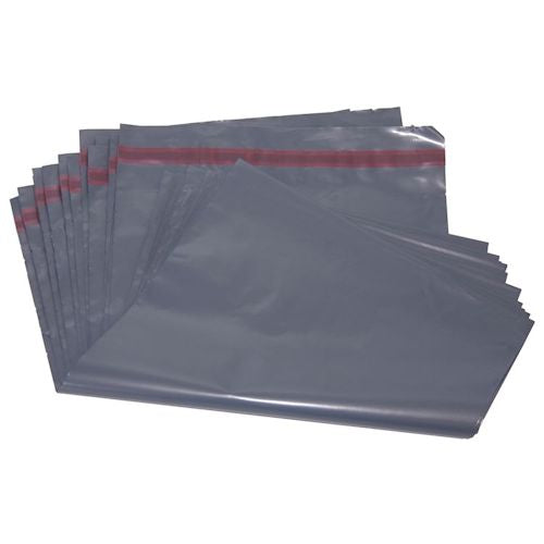 100% Recycled Grey Polythene Mailing Postal Bags