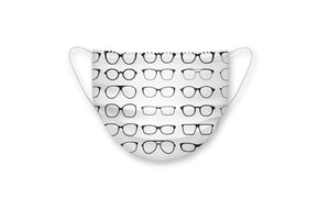 20.001 Microfiber mask with black glasses - Optics Trading