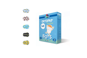 Ortopad soft, colored patches for boys, girls - Optics Trading