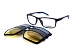 Romeo eyewear with clips 25432, C1, 1 - Optics Trading