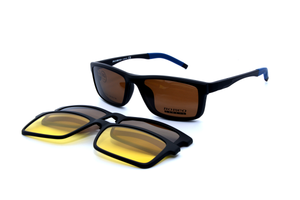 Romeo eyewear with clips 25432, C1, 2 - Optics Trading