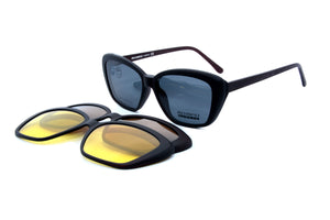 Romeo eyewear R25464 C2 with 3 clips