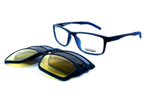 Romeo eyewear with clips 25432, C2, 1 - Optics Trading