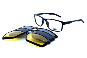 Romeo eyewear with clips 25432, C3, 1 - Optics Trading