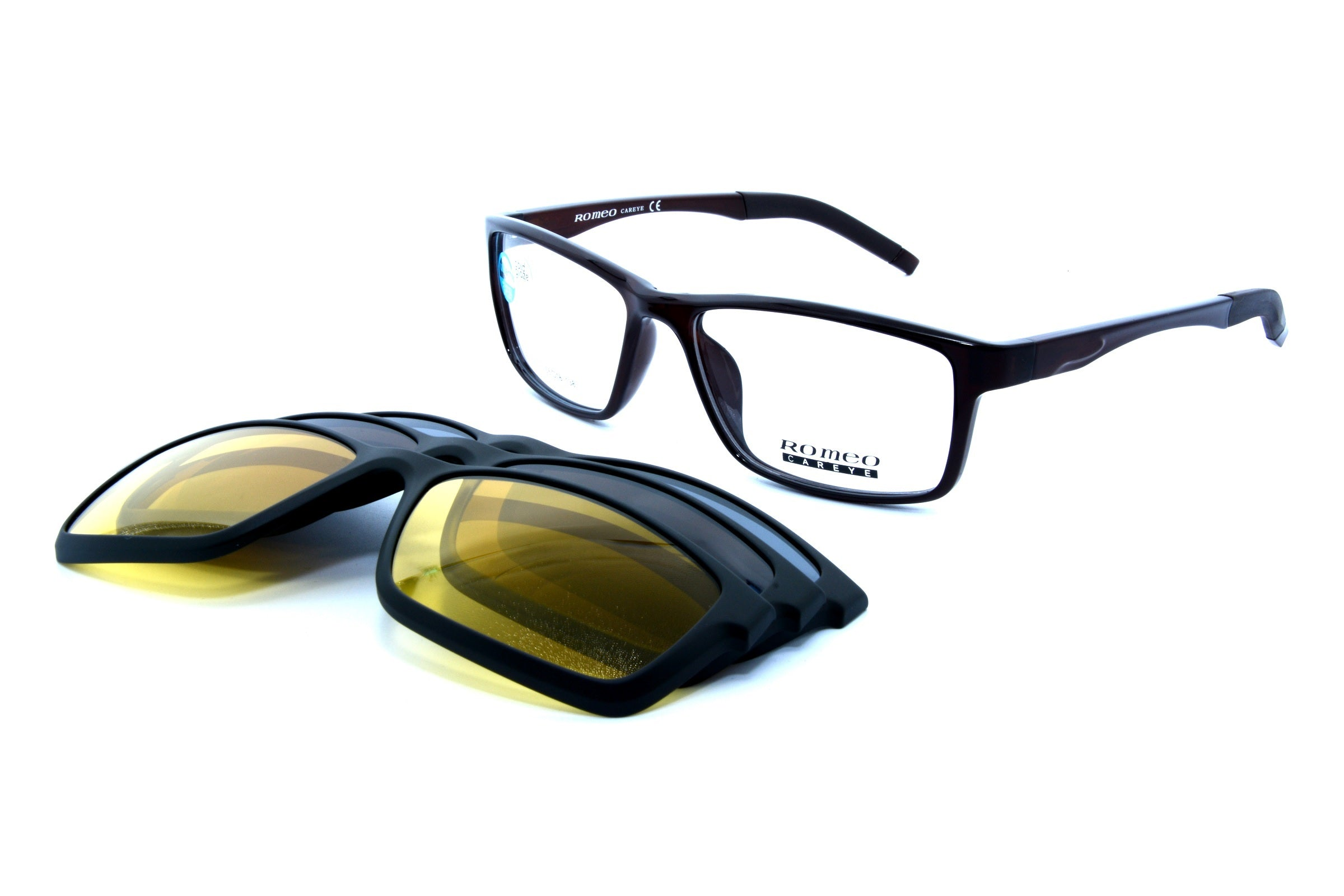 Romeo eyewear with clips 25432, C4, 1 - Optics Trading