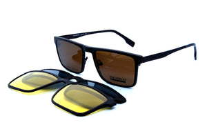 Romeo eyewear with clips 25432, C4, 2 - Optics Trading