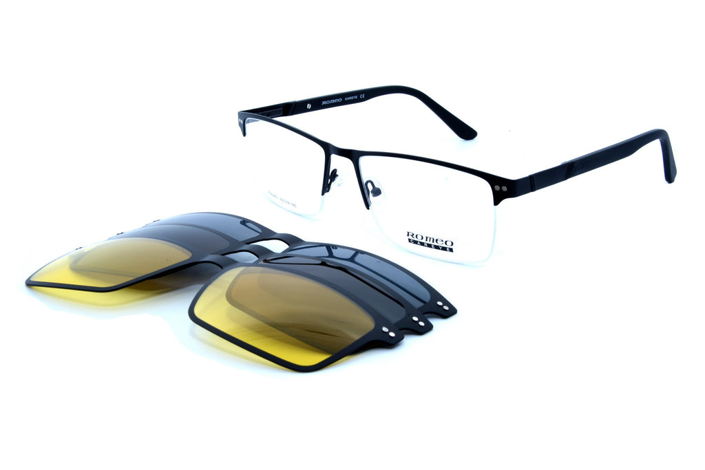 Romeo eyewear with 3 clips 25440, C1 - Optics Trading